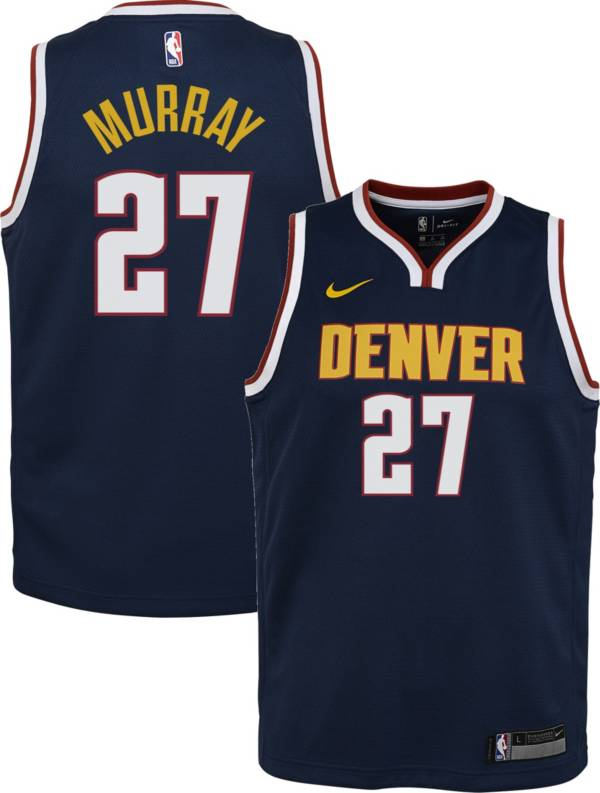 Nike Youth Denver Nuggets Jamal Murray #27 Navy Dri-FIT Swingman Jersey product image
