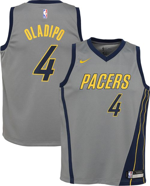 55bb65c0e Nike Youth Indiana Pacers Victor Oladipo Dri-FIT City Edition Swingman  Jersey. noImageFound. Previous