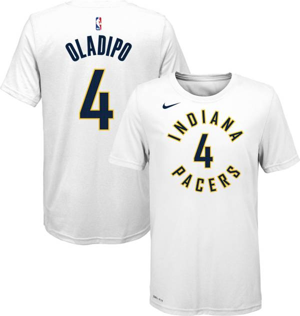 Nike Youth Indiana Pacers Victor Oladipo #4 Dri-FIT White T-Shirt product image