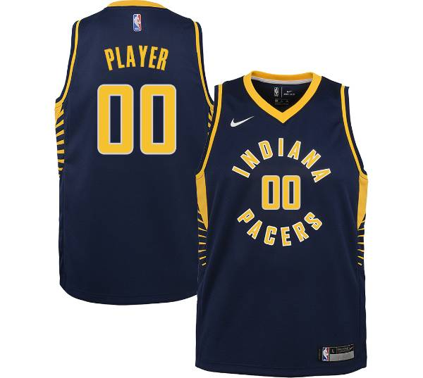Nike Youth Full Roster Indiana Pacers Navy Dri-FIT Swingman Jersey product image