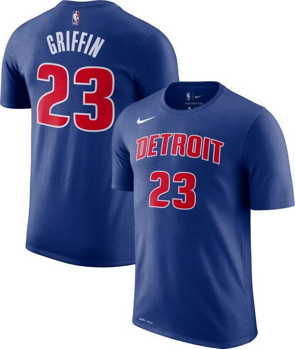 Nike Youth Detroit Pistons Blake Griffin #23 Dri-FIT Royal T-Shirt product image
