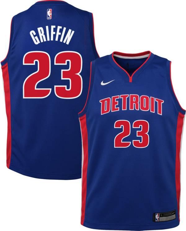 Nike Youth Detroit Pistons Blake Griffin #23 Royal Dri-FIT Swingman Jersey product image