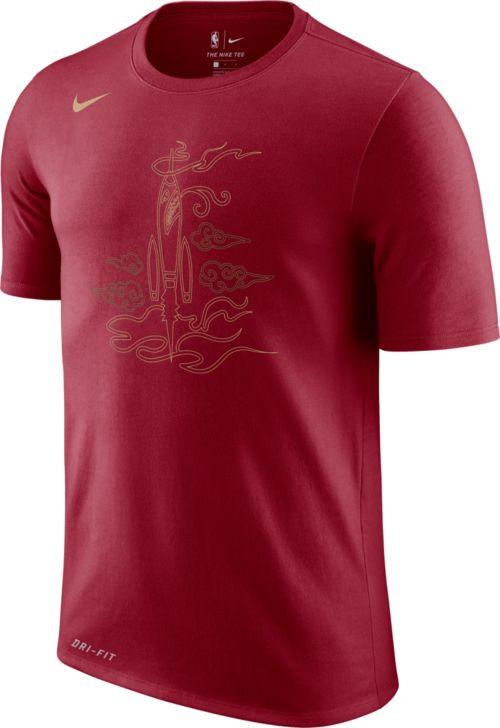 a785ae786ac9 Nike Youth Houston Rockets Dri-FIT City Edition T-Shirt