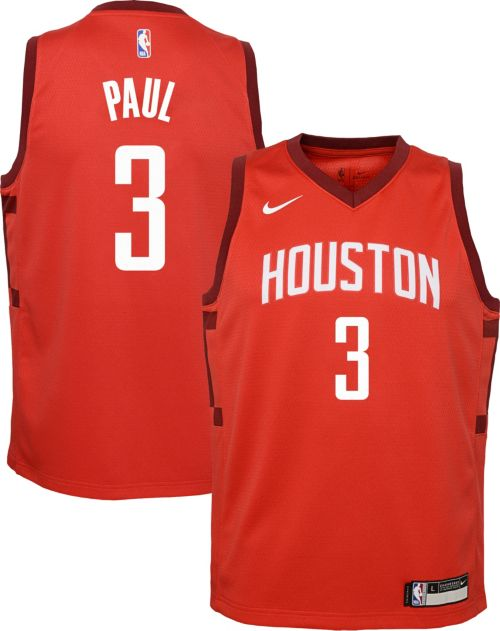 45c8399e0 Nike Youth Houston Rockets Chris Paul Dri-FIT Earned Edition Swingman  Jersey. noImageFound. Previous. 1. 2. 3