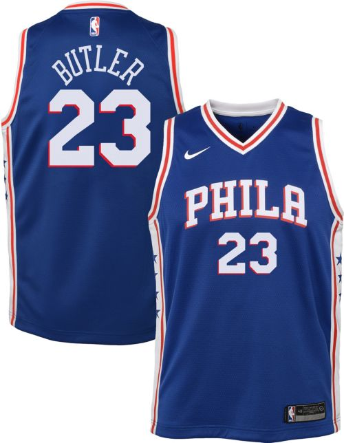 373a8f67445 Nike Youth Philadelphia 76ers Jimmy Butler  23 Royal Dri-FIT Swingman Jersey.  noImageFound. Previous