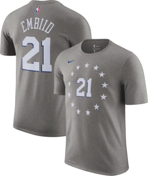 542959bcf Nike Youth Philadelphia 76ers Joel Embiid Dri-FIT City Edition T ...