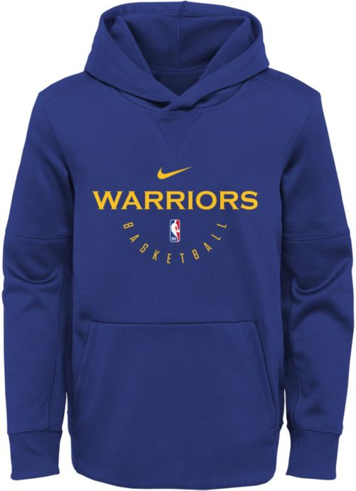 0802c08cc65 Nike Youth Golden State Warriors Spotlight Hoodie. noImageFound. 1