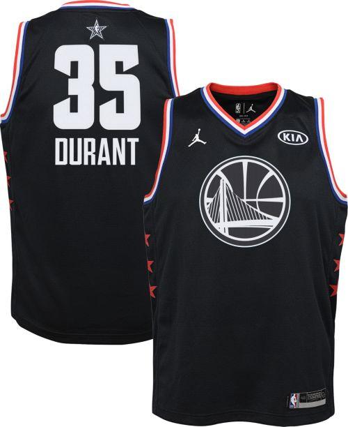 Jordan Youth 2019 NBA All-Star Game Kevin Durant Black Dri-FIT Swingman  Jersey. noImageFound. Previous e453ec3e3