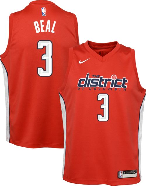 b23390ad78ea Nike Youth Washington Wizards Bradley Beal Dri-FIT Earned Edition ...