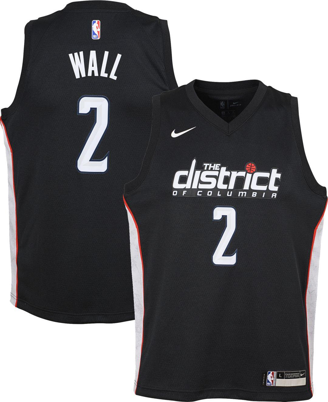 save off 78c3b 9d6fd Nike Youth Washington Wizards John Wall Dri-FIT City Edition Swingman Jersey.  noImageFound. Previous