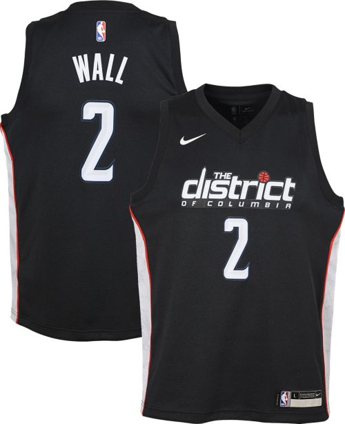 Nike Youth Washington Wizards John Wall Dri-FIT City Edition Swingman Jersey.  noImageFound. Previous 40bbd17d3
