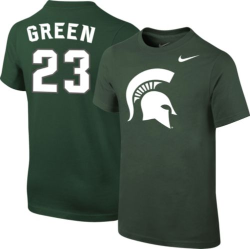 93577848d47 Nike Youth Michigan State Spartans Draymond Green  23 Green Future Star  Replica Basketball Jersey T-Shirt