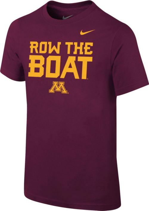 b5d2d55b204b Nike Youth Minnesota Golden Gophers Maroon Mantra T-Shirt. noImageFound. 1