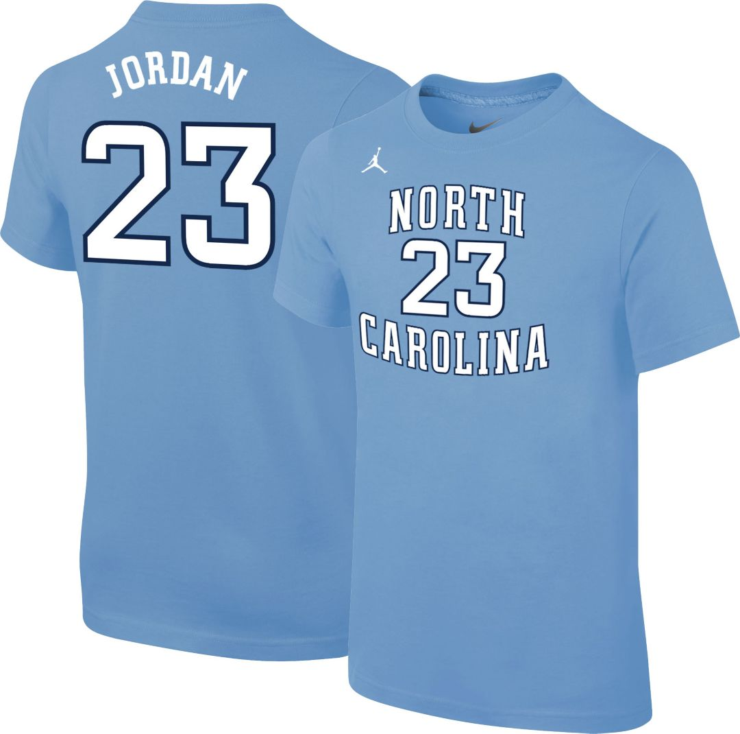 42b4bc728c3 Jordan Youth North Carolina Tar Heels Michael Jordan #23 Carolina Blue  Future Star Replica Basketball Jersey T-Shirt. noImageFound. Previous