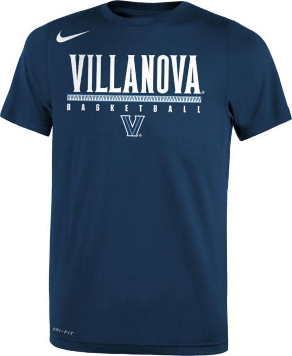 Nike Youth Villanova Wildcats Navy Legend Basketball T-Shirt product image