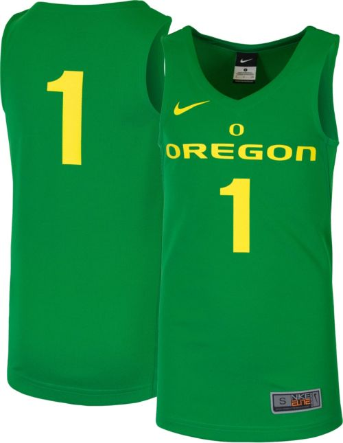 a0d621f07 Nike Youth Oregon Ducks  1 Green Replica ELITE Basketball Jersey.  noImageFound. Previous