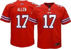 the latest 9cb7c cf5a4 Nike Youth Color Rush Game Jersey Buffalo Bills Josh Allen #17