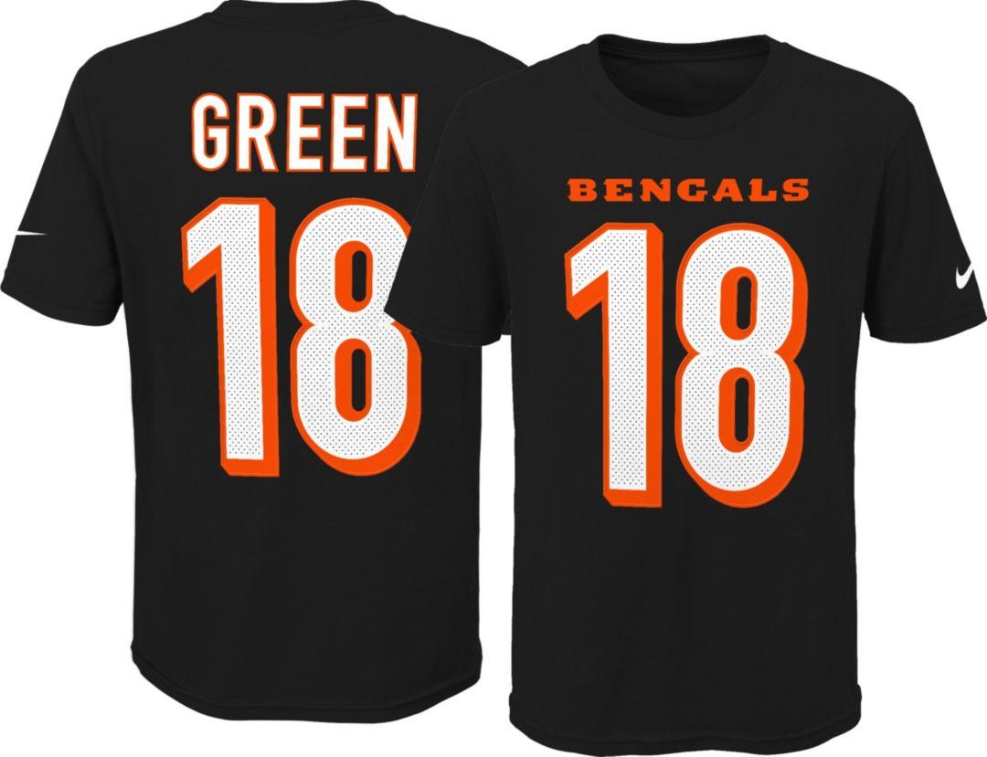 a13b3a147 Nike Youth Cincinnati Bengals A.J. Green #18 Pride Black T-Shirt.  noImageFound. Previous