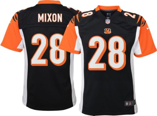 6750a237dbd Nike Youth Home Game Jersey Cincinnati Bengals Joe Mixon #28. noImageFound.  Previous