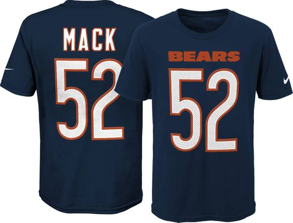 Nike Youth Chicago Bears Khalil Mack #52 Pride Player Navy T-Shirt product image