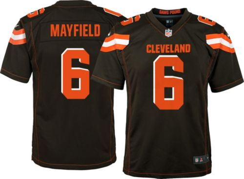 fc3627b53 Baker Mayfield  6 Nike Youth Cleveland Browns Home Game Jersey.  noImageFound. Previous