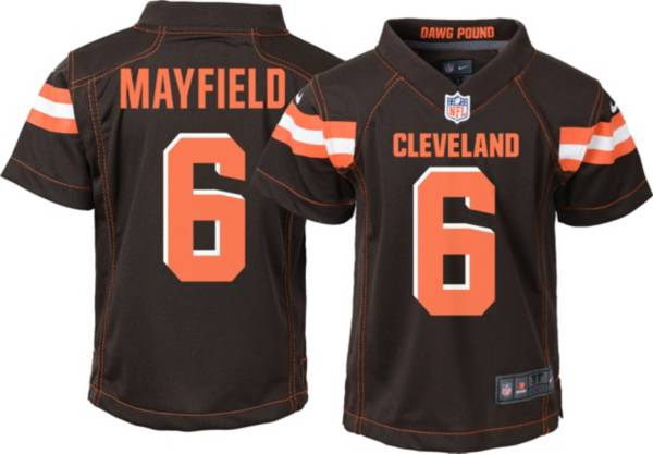 Nike Boys' Home Game Jersey Cleveland Browns Baker Mayfield #6 product image