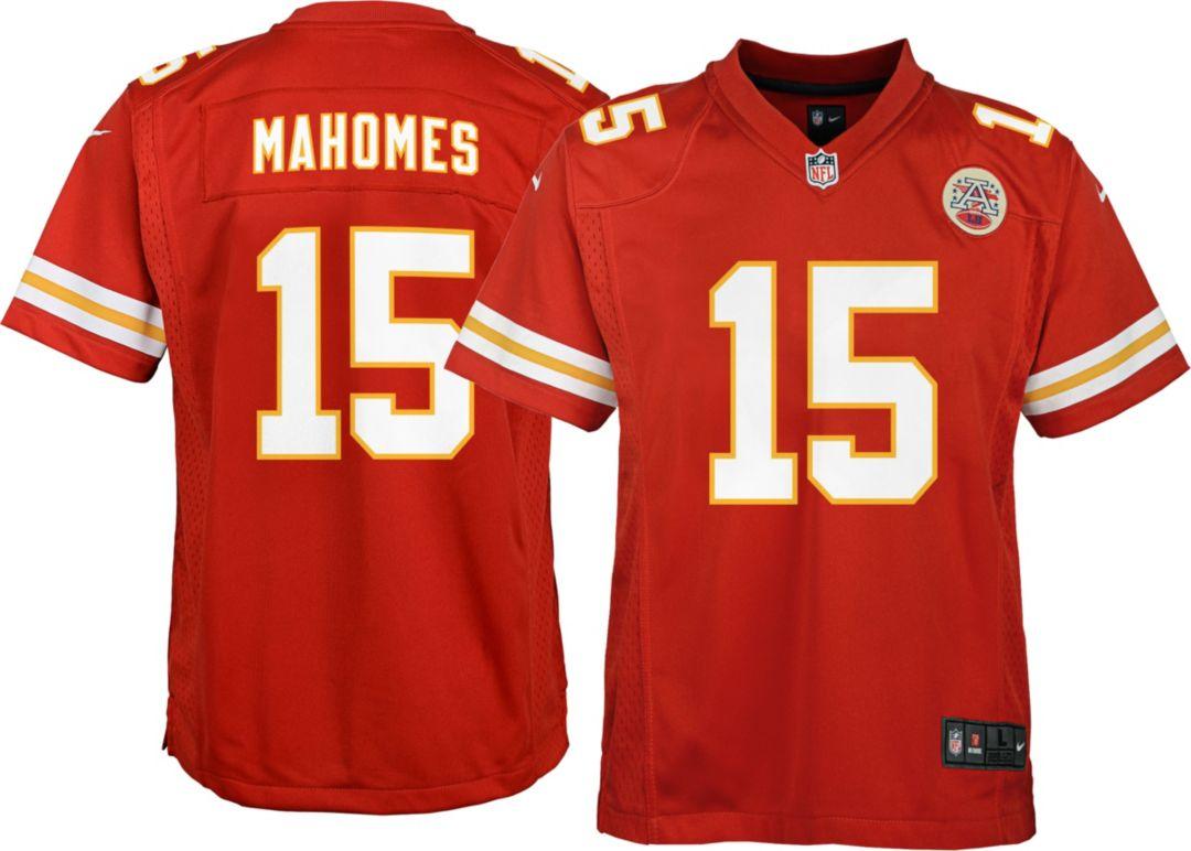 5f603333 Nike Youth Home Game Jersey Kansas City Chiefs Patrick Mahomes #15.  noImageFound. Previous