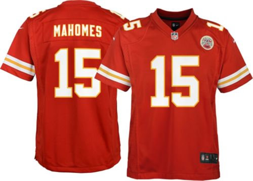 e8276de8898 Nike Youth Home Game Jersey Kansas City Chiefs Patrick Mahomes  15.  noImageFound. Previous