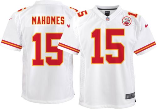 1327cf6d003 Nike Youth Away Game Jersey Kansas City Chiefs Patrick Mahomes  15.  noImageFound. Previous