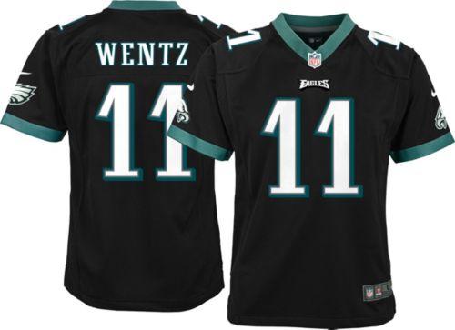 2521b211c47 Nike Youth Alternate Game Jersey Philadelphia Eagles Carson Wentz #11