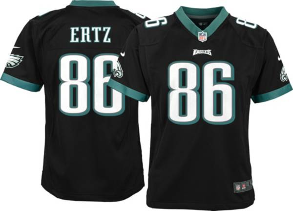 Nike Youth Philadelphia Eagles Zach Ertz #86 Black Game Jersey product image
