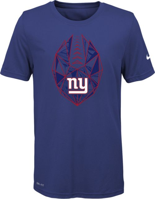 Nike Youth New York Giants Icon Performance Royal T-Shirt. noImageFound. 1 5aa6a440b