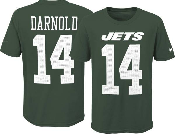 Nike Youth New York Jets Sam Darnold #14 Pride Green T-Shirt product image
