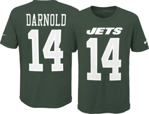 Nike Youth New York Jets Sam Darnold  14 Pride Green T-Shirt. noImageFound.  Previous 77c53a6de