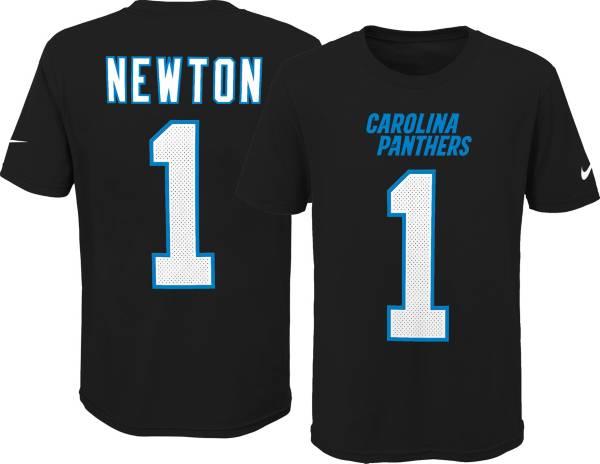 Nike Youth Carolina Panthers Cam Newton #1 Pride Black Player T-Shirt product image