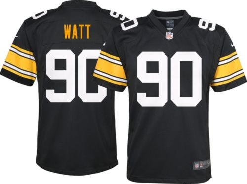 93792171d7b Nike Youth Alternate Game Jersey Pittsburgh Steelers T.J. Watt  90 ...