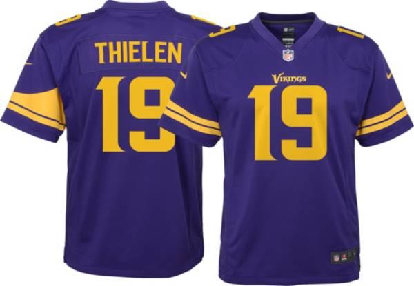 Nike Youth Minnesota Vikings Adam Thielen #19 Purple Game Jersey product image