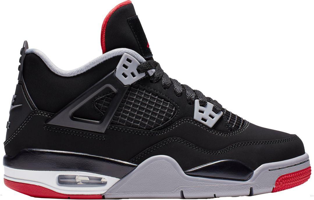 ecd48bf470a Jordan Kids' Grade School Air Jordan 4 Retro Basketball Shoes.  noImageFound. Previous. 1