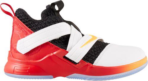 Nike Kids  Preschool LeBron Soldier XII Basketball Shoes  89c423a9da16