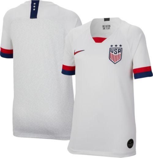 4991b920967 Nike Youth 2019 FIFA Women s World Cup USA Soccer Breathe Stadium Home  Replica Jersey. noImageFound. Previous