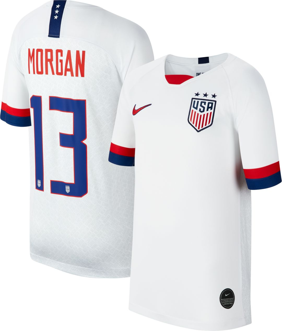 4d966c91e Nike Youth 2019 FIFA Women's World Cup USA Soccer Alex Morgan #13 ...