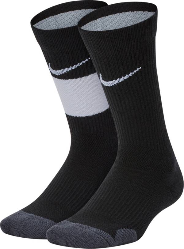 Nike Youth Elite Basketball Crew Socks - 2 Pack product image