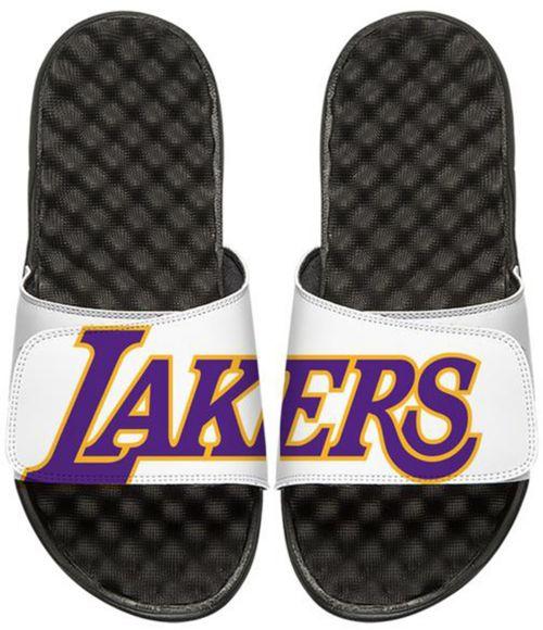 2ef3402e5ee ISlide Los Angeles Lakers Logo Slide Sandals. noImageFound. 1