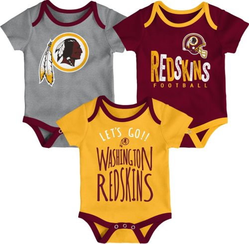 NFL Team Apparel Infant Washington Redskins Tailgater 3-Piece Onesie Set.  noImageFound. Previous befc5d415