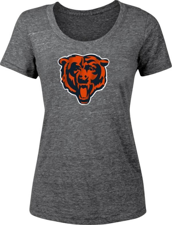 '47 Women's Chicago Bears Navy Scoop Neck T-Shirt product image