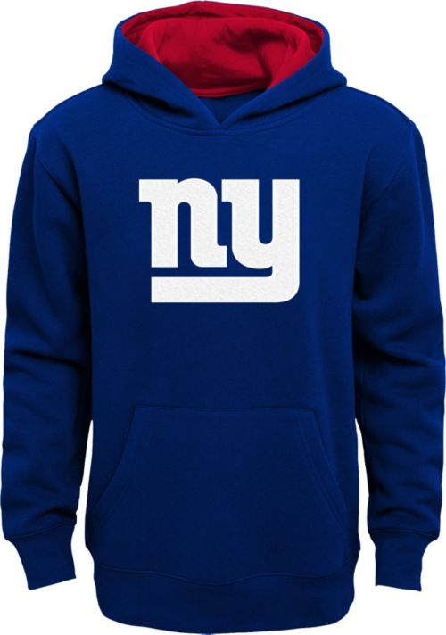 Top NFL Team Apparel Youth New York Giants Prime Royal Pullover Hoodie  hot sale