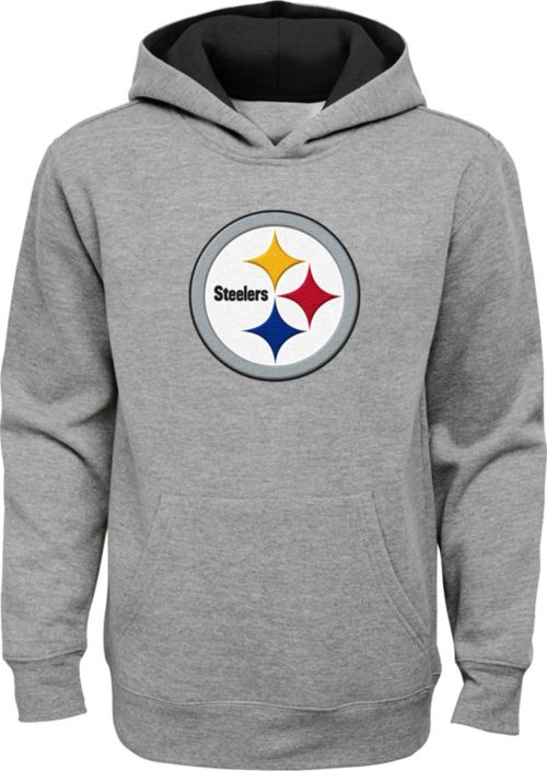 ... Youth Pittsburgh Steelers Prime Grey Pullover Hoodie. noImageFound. 1 9f448d8a9
