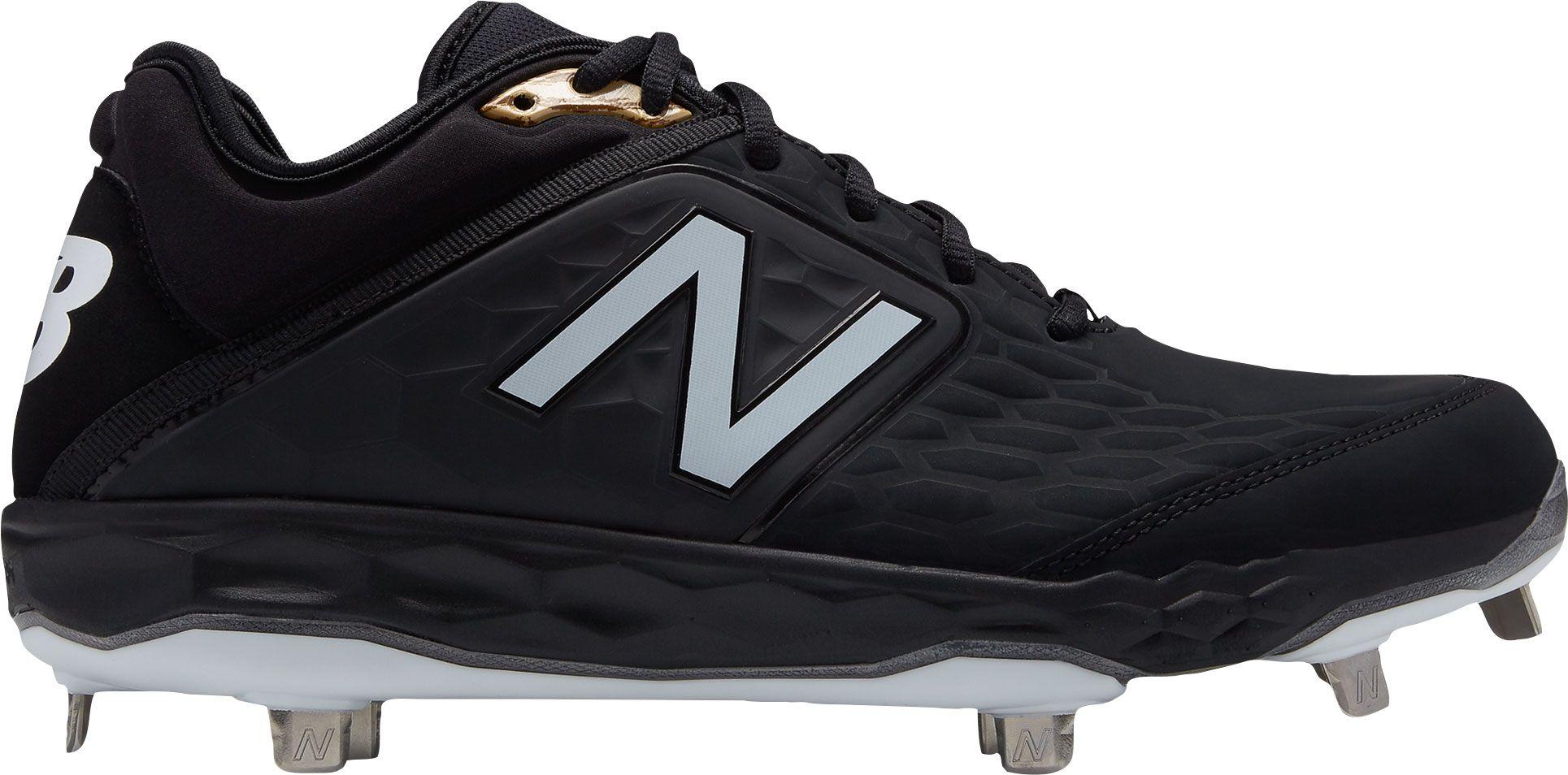 new balance black cleats