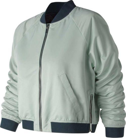 71360bbfd New Balance Women s Heat Loft Reversible Bomber Jacket