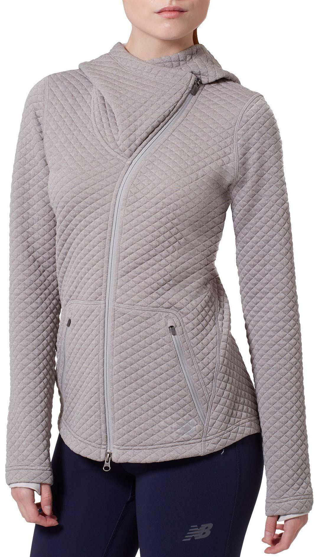 b6f1e887eba27 New Balance Women's Heat Loft Asymmetrical Full-Zip Jacket | DICK'S ...